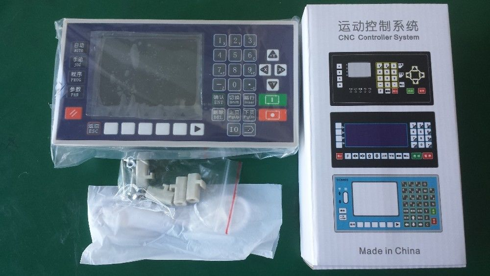 4 axis 3.5 Inch Color LCD CNC controller lathe mini milling mach