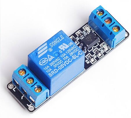 1 channel relay module, 5V optocoupler isolation module,low volt