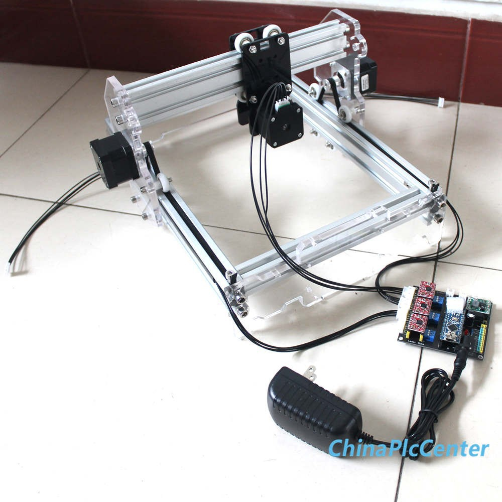 17x20cm Desktop Laser Engraver Engraving Cutting Machine DIY CNC