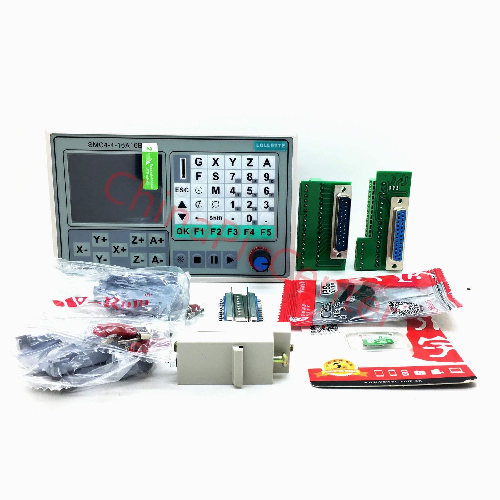 Offline CNC controller 50KHZ 4 Axis Carving Machine Control Syst